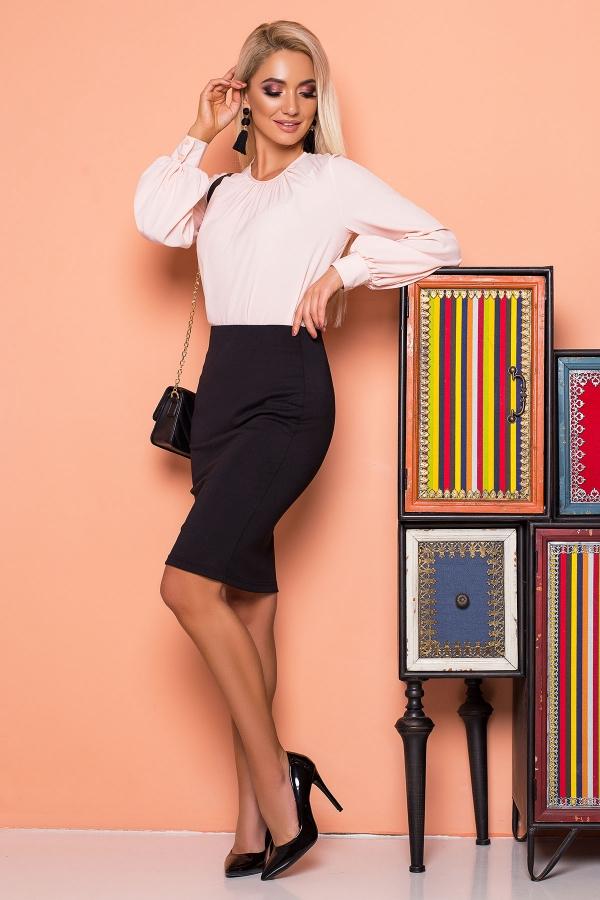 pink-blouse-pleats-wide-sleeves-half